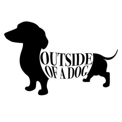 outside of a dog