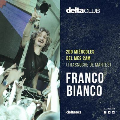 Franco Bianco at Delta FM 90.3 | Buenos Aires.