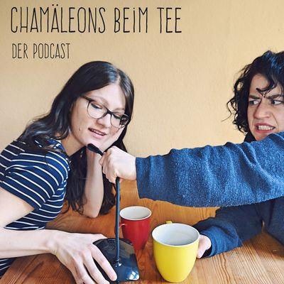 Chamäleons beim Tee