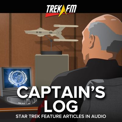Captain's Log: Star Trek Features Articles in Audio