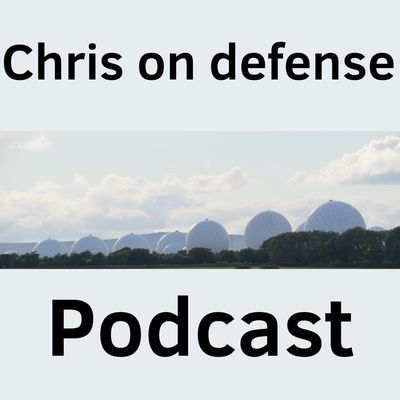 Chris on Defense podcast