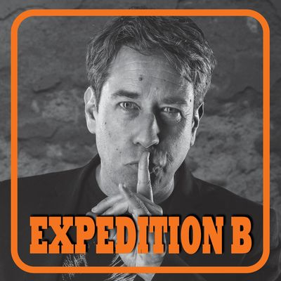 Expedition B - Podcast des Kabarettisten Frederic Hormuth