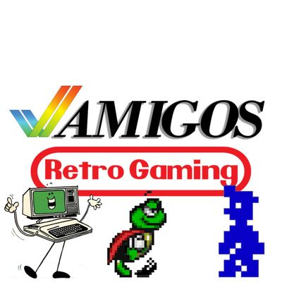 Amigos Retro Gaming Network - Amigos: Everything Amiga / ARG Presents / Sprite Castle / Pixel Gaiden