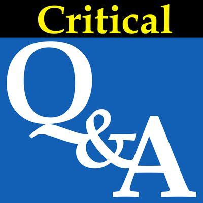 Critical Q&A
