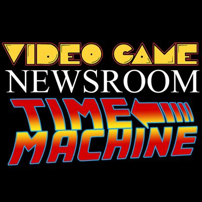 Video Game Newsroom Time Machine