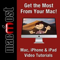 MacMost - Mac, iPhone and iPad How-To Videos