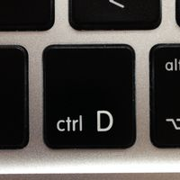 CTRL-D