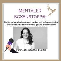 MENTALER BOXENSTOPP® by GÖSCHEL