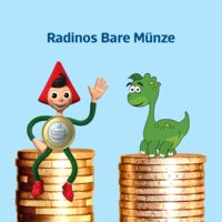 Radinos Bare Münze