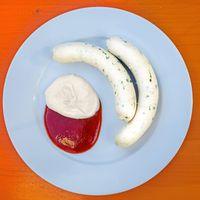 Weißwurst Schranke