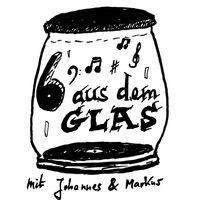 6 aus dem Glas