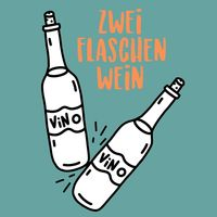 Zwei Flaschen Wein