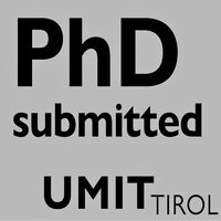 PhD submitted
