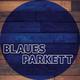 Blaues Parkett